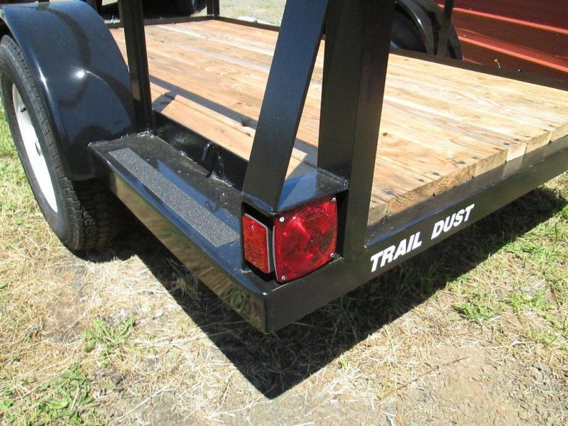 Trail Dust Open Side Utility Trailers