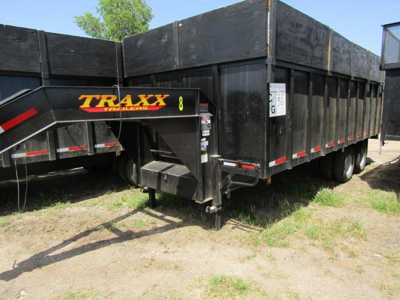 2017 Traxx Trailers Dump Trailer