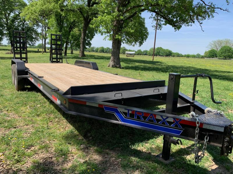 2019 Traxx Trailers EQH22BP Equipment Trailer