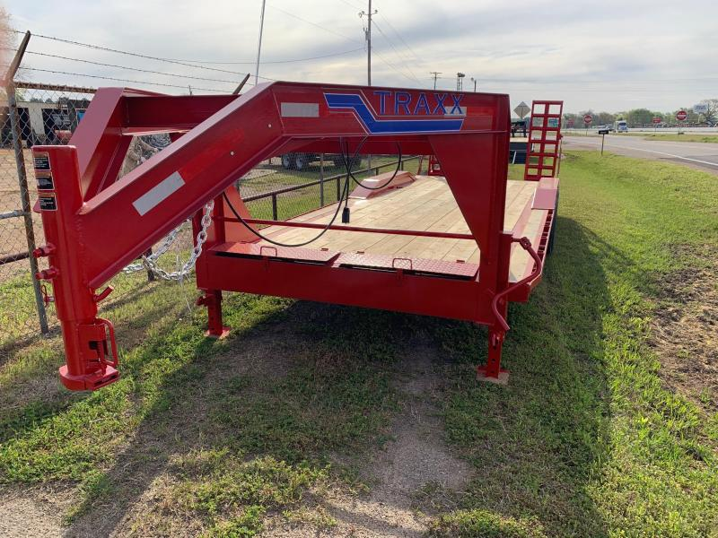 Traxx Trailers 24' Gooseneck Equipment Trailer