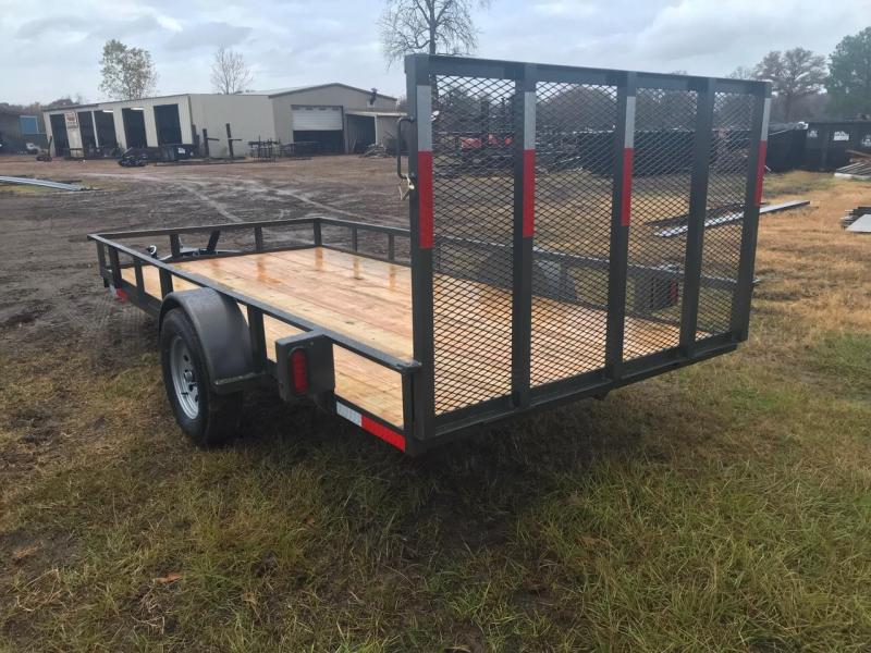 2019 Traxx Trailers Single Axle 77x14 Utility Trailer