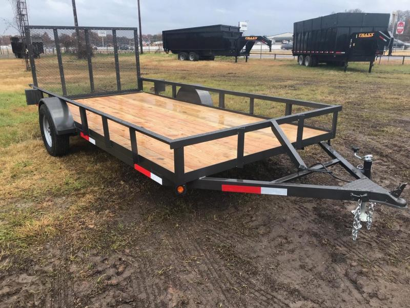 2019 Traxx Trailers Single Axle 77x14 Utility Trailer in Ashburn, VA