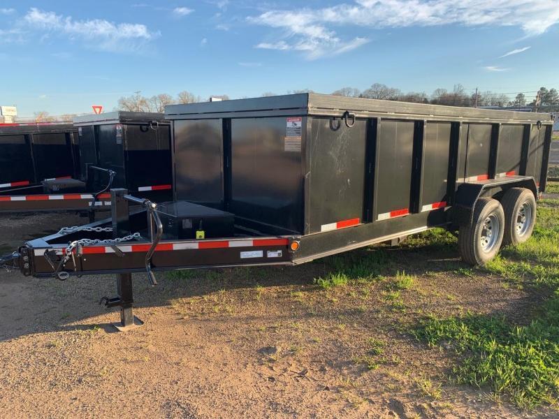 2018 Traxx Trailers 16 Bumper Pull Dump Trailer Dump Trailer in Ashburn, VA