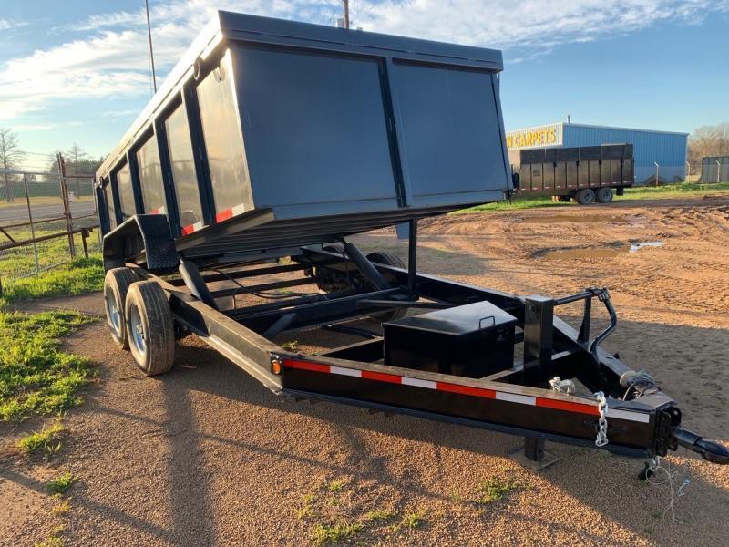 2018 Traxx Trailers 16 Bumper Pull Dump Trailer Dump Trailer