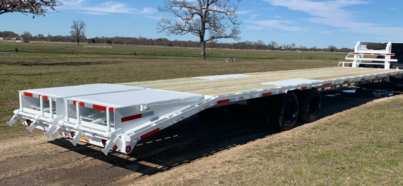 2019 Traxx Trailers 40' Flatbed Trailer