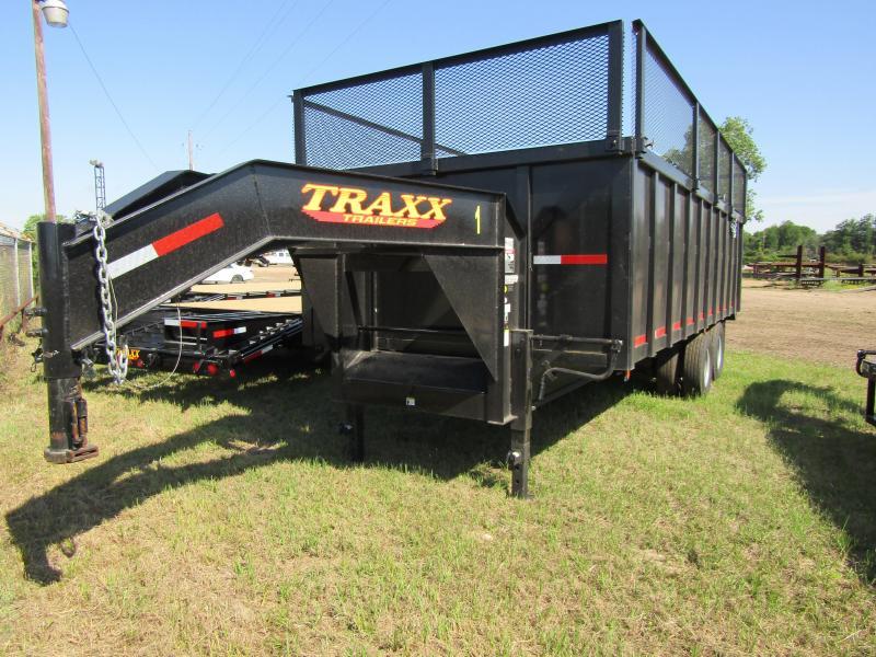 2017 Traxx Trailers 20' Gooseneck Dump Trailer