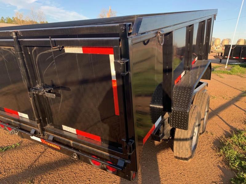 Traxx Trailers 14 Bumper Pull Dump Trailer Dump Trailer