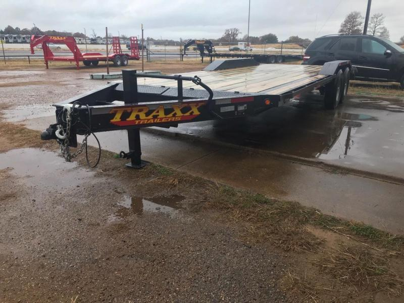 2019 Traxx Trailers 22 BP Equipment Hauler Equipment Trailer