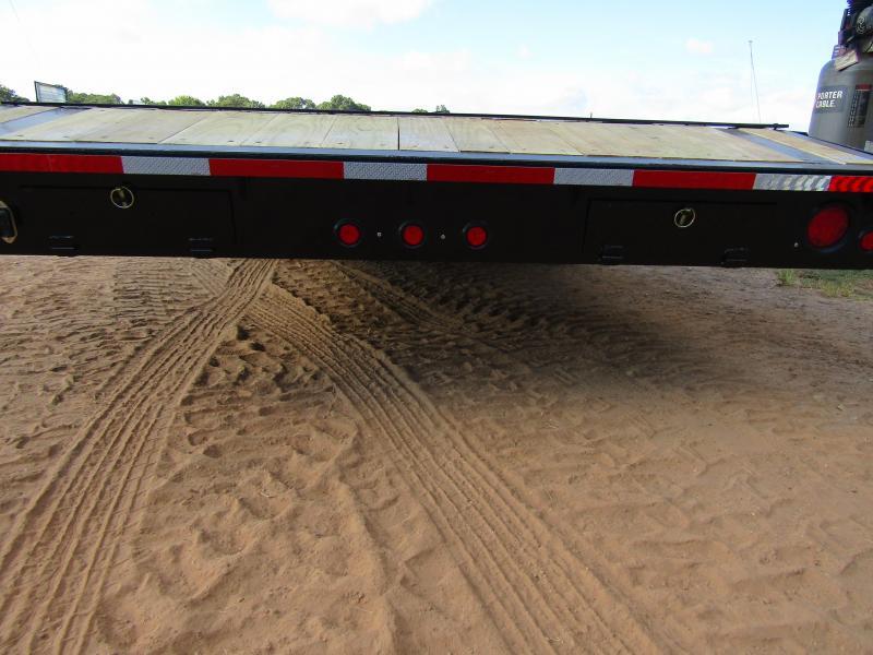 2018 Traxx Trailers 40 Triple Lowboy / Car hauler Flatbed Trailer