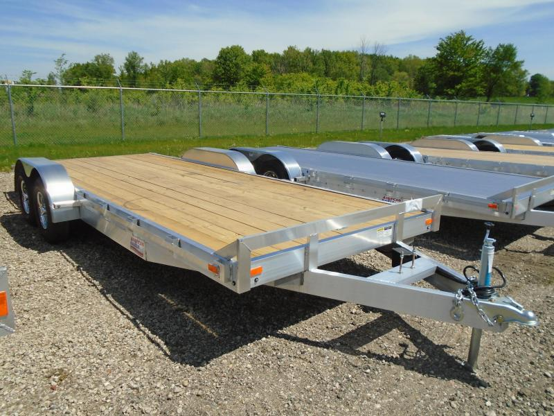 2018 American Hauler Industries 8.5X20 Flatbed Trailer in Babcock, WI