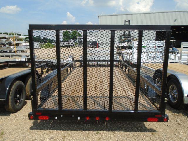 2019 Big Tex Trailers 50LA-14BK4RG 6.5X14 RAMP GATE Utility Trailer