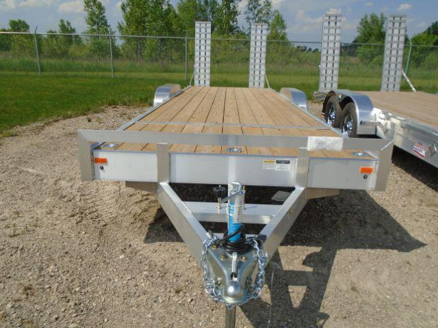 2018 American Hauler Industries AHAFE824TA3 Equipment Hauler Flat Deck Utility Trailer