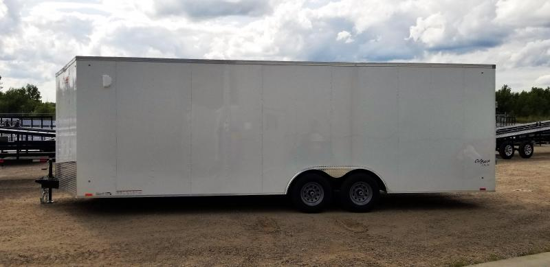 2019 Pace American OB85x24TE3 V-Nose/Ramp Door/Extra Height (7ft int) Enclosed Cargo Trailer