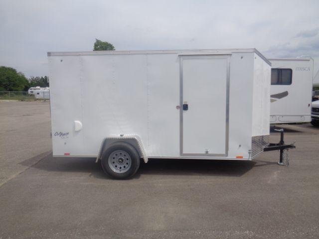 2019 Pace American 6x12 V-NOSE/RAMP DOOR/SIDE DOOR Enclosed Cargo Trailer