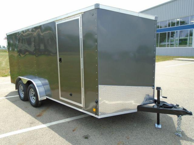 2020 Great Lakes Trailers GLEFTW716TA35-S ERIE 7X16 RD/SD Enclosed Cargo Trailer