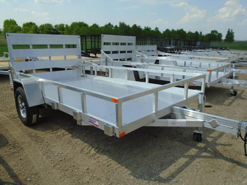 2018 American Hauler Industries 77x12 Flat Deck Aluminum Utility Trailer