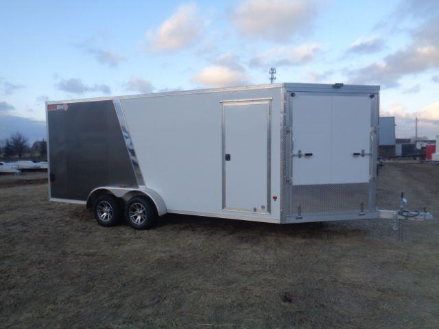 2018 SnoPro 23FT 2 PLACE SNOWMOBILE TRAILER