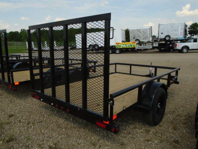 2019 Big Tex Trailers 35SA-10BK4RG 6.5X10 RAMP GATE Utility Trailer
