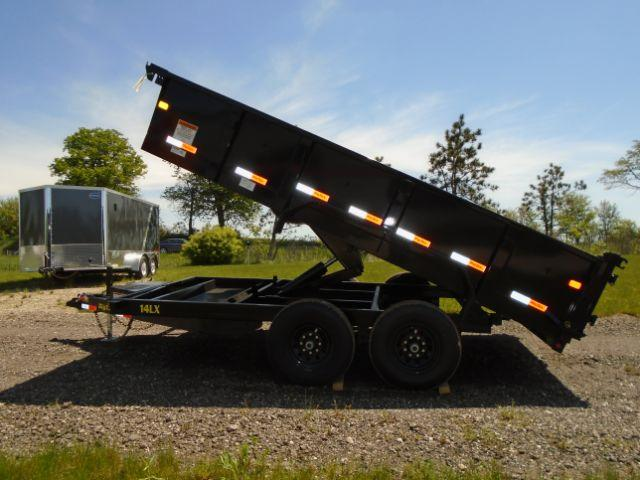2019 Big Tex 14LX-14BK7SIRPD 83x14 14K Dump Trailer