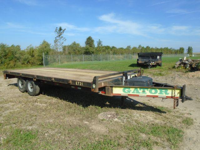 2011 Gatormade Trailers  8.5x20 Equipment Trailer