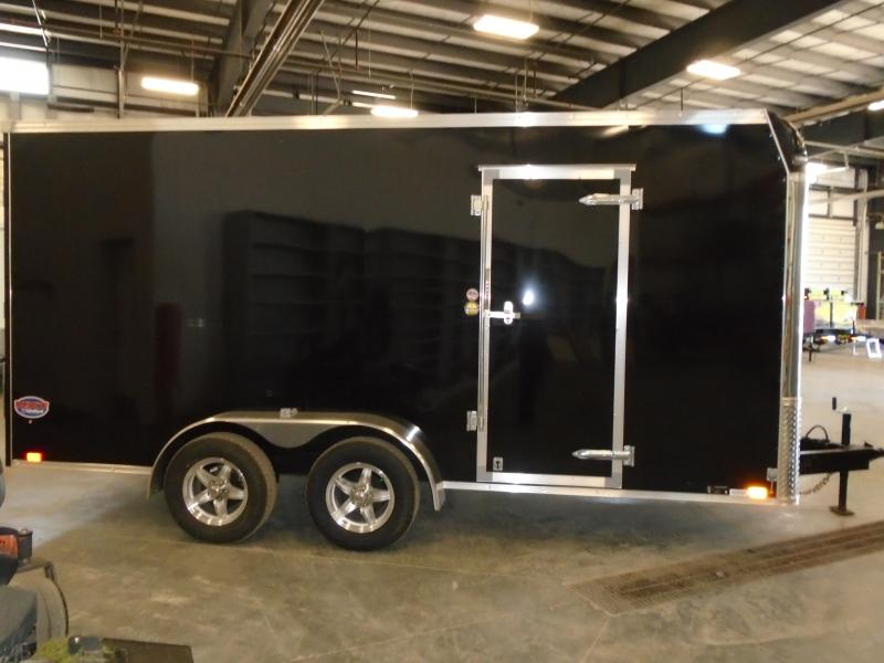 2019 United Trailers 7x16 Ramp Door Enclosed Cargo Trailer