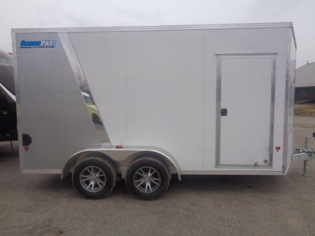 2018 Cargo Pro 7X14 ALUMINUM V-NOSE ATV/UTV CARGO TRAILER