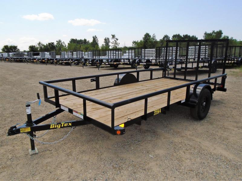 2019 Big Tex Trailers 35SA-14BK4RG 6.5X14 RAMP GATE Utility Trailer