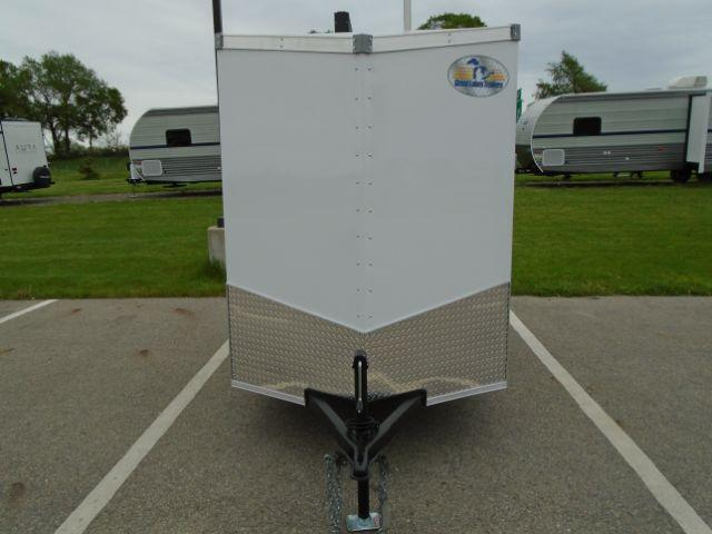 2020 Great Lakes Trailers GLEFTW58SA35-S V-NOSE/SWING DOOR Enclosed Cargo Trailer