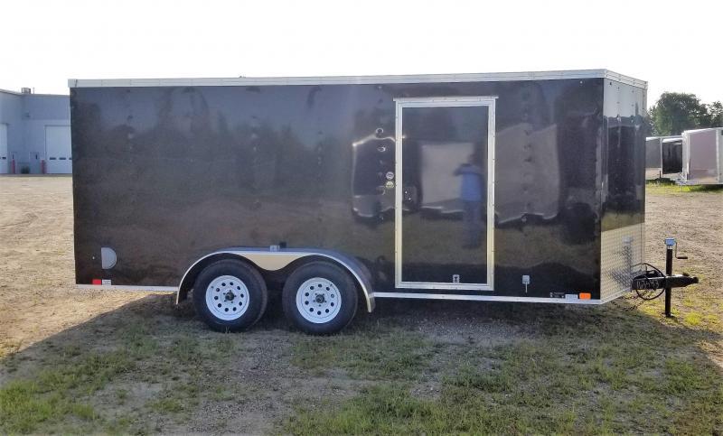 2019 United Trailers 7x16 V-Nose/Ramp Door Enclosed Cargo Trailer in Ashburn, VA