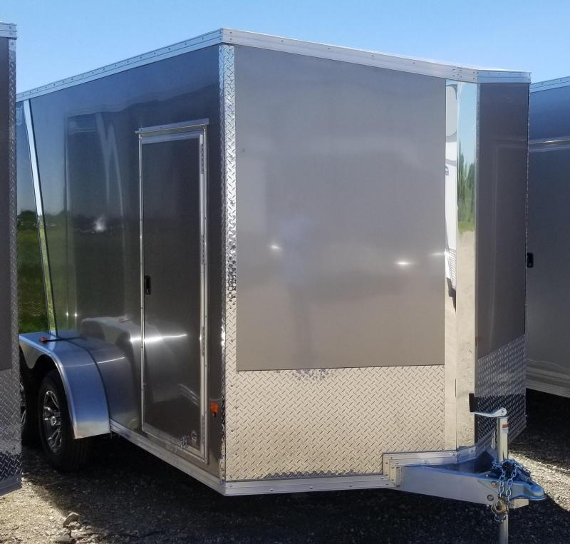 2019 CargoPro Trailers C7X14S V-NOSE/RAMP DOOR/SIDE DOOR Enclosed Cargo Trailer