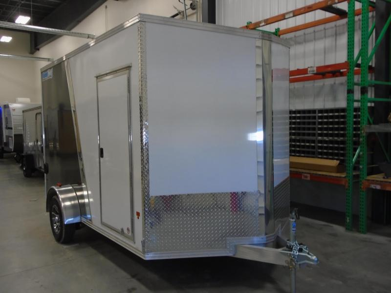 2019 CargoPro Trailers C7X12S V-NOSE/RAMP DOOR/SIDE DOOR Enclosed Cargo Trailer
