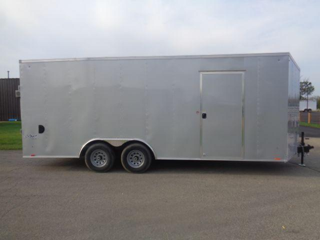 2019 Pace American 8.5x20 V-NOSE/RAMP DOOR/SIDE DOOR/EXTRA HEIGHT Enclosed Cargo Trailer