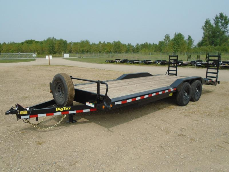 2019 Big Tex Trailers 14DF-22BK 7X22 14K Equipment Trailer Other Trailer