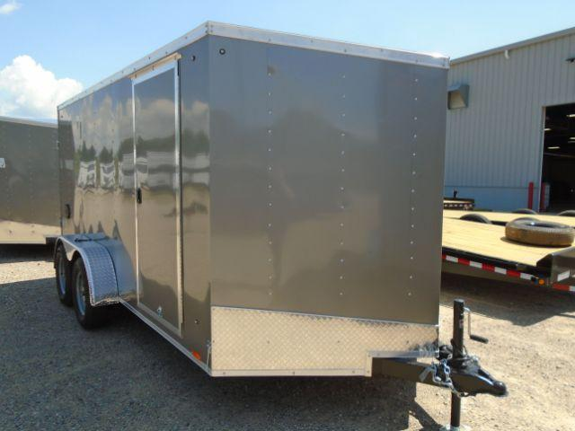 2019 Pace American OB7X14TE2 V-NOSE/RAMP DOOR/SIDE DOOR Enclosed Cargo Trailer