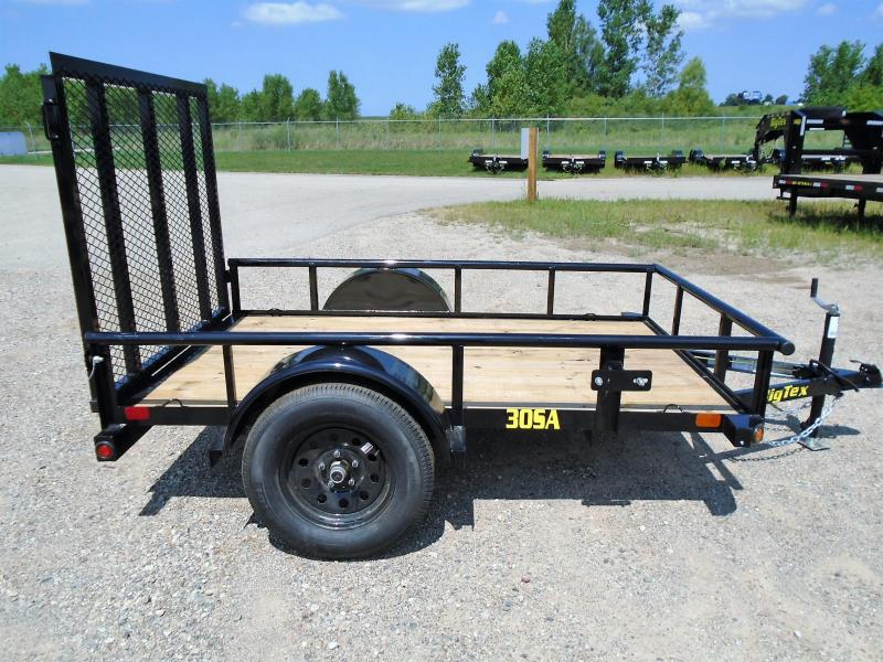 2019 Big Tex Trailers 30A-08BK4RG 5X8 RAMP GATE Utility Trailer