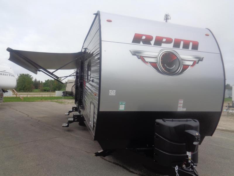 2018 RPM 32SRPM TOY HAULER TRAVEL TRAILER