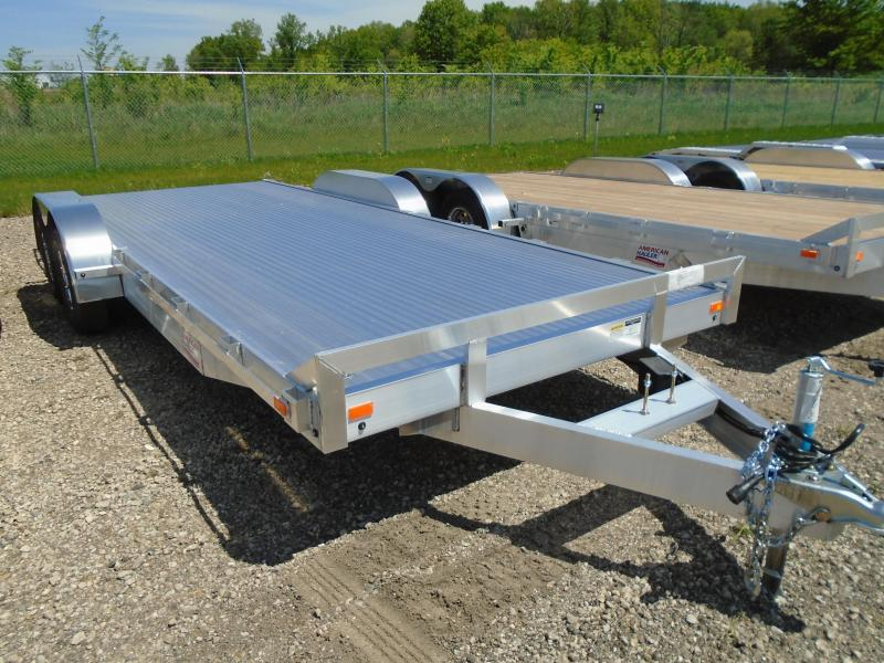 2018 American Hauler Industries 8x20 Flat Deck Aluminum Trailer in New Auburn, WI