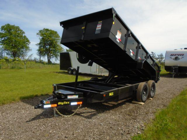 2018 Big Tex Trailers 14LX-16BK7SIRPD DUMP Dump Trailers