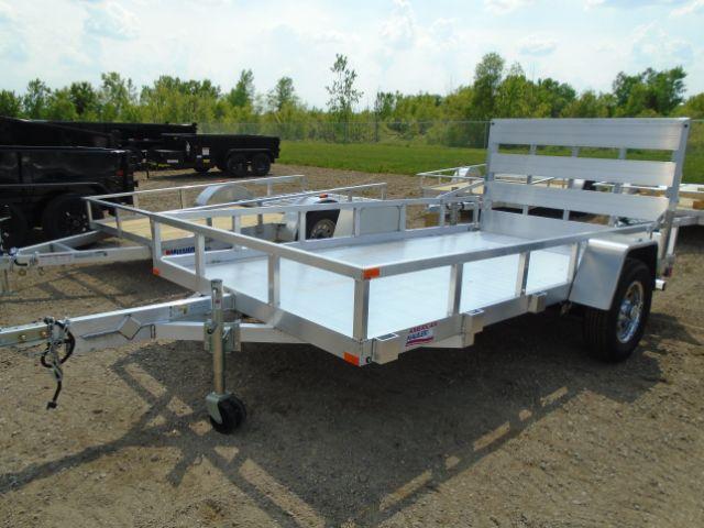 2018 American Hauler Industries ALFA7712SA Flat Deck Aluminum Utility Trailer