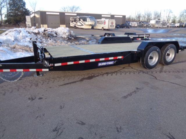 2018 Sure-Trac 20FT TILT BED EQUIPMENT 16K TRAILER