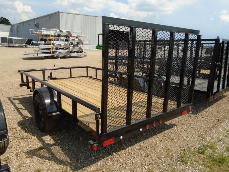 2019 Big Tex 6.5x12ft Ramp Gate Utility Trailer