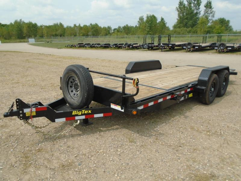 2019 Big Tex 20ft 14K Equipment Tilt Trailer