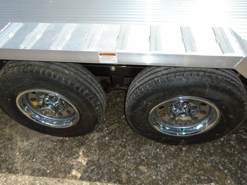 2018 American Hauler Industries8x20 Flat Deck Aluminum Wheel Over Trailer