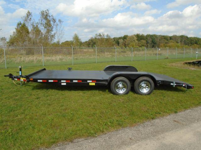 2019 Big Tex Trailers 10DM-20BK 20 FT Equioment Trailer