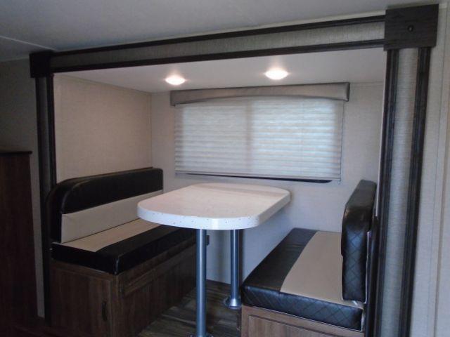 2019 Travel Lite 24ft Rear Bath Outdoor Kitchen Travel Trailer