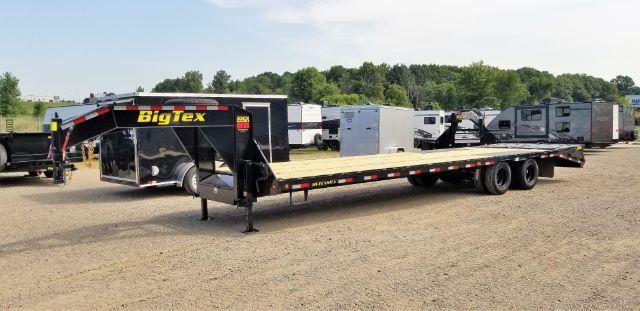 2019 Big Tex Trailers 22GN-28BK+5MR GOOSENECK Other Trailer in Genoa City, WI