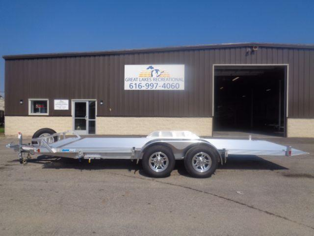 2017 Cargo Pro Tilt 10K Aluminum Flatbed Trailer in Iron Belt, WI