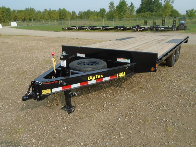 2019 Big Tex 20ft 14K Flatbed Trailer in Evansville, WI