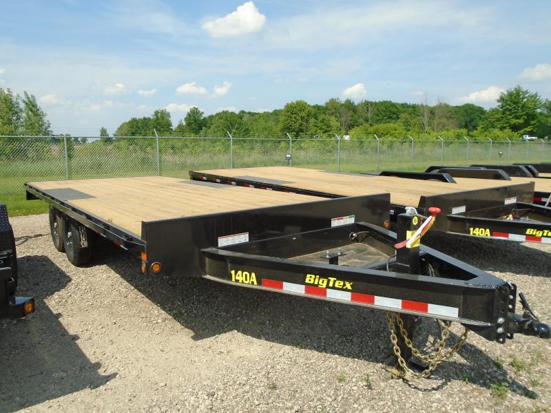 2019 Big Tex 20ft 14K Flatbed Trailer in Casco, WI