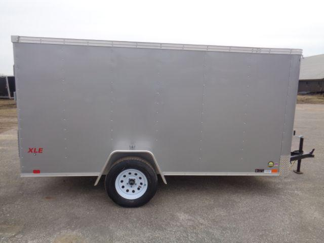 2018 United Trailers XLE-612SA30-S RAMP DOOR Enclosed Cargo Trailer